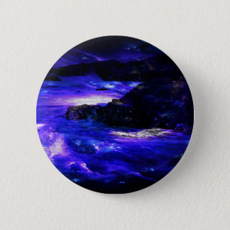 Amethyst Sapphire Indian Dreams 6 Cm Round Badge