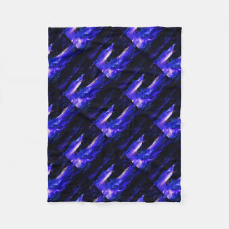 Amethyst Sapphire Indian Dreams Fleece Blanket
