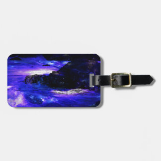 Amethyst Sapphire Indian Dreams Luggage Tag