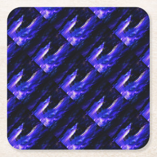 Amethyst Sapphire Indian Dreams Square Paper Coaster