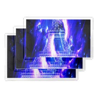 Amethyst Sapphire Paris Dreams Acrylic Tray