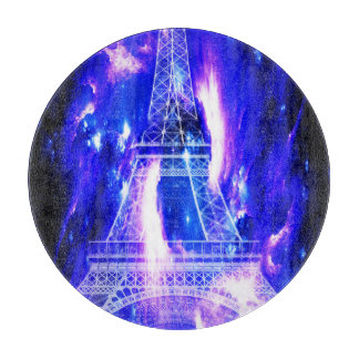 Amethyst Sapphire Paris Dreams Cutting Board