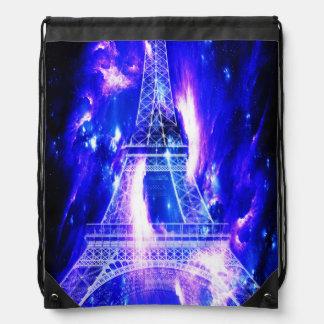 Amethyst Sapphire Paris Dreams Drawstring Bag