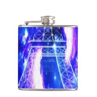Amethyst Sapphire Paris Dreams Hip Flask