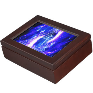 Amethyst Sapphire Paris Dreams Keepsake Box