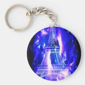 Amethyst Sapphire Paris Dreams Key Ring