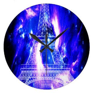 Amethyst Sapphire Paris Dreams Large Clock