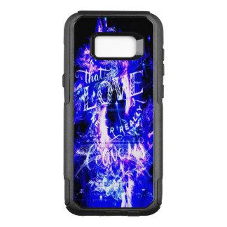 Amethyst Sapphire Paris Dreams Ones that Love OtterBox Commuter Samsung Galaxy S8+ Case