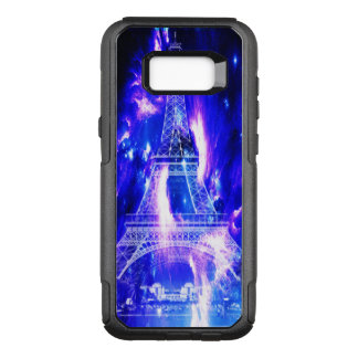 Amethyst Sapphire Paris Dreams OtterBox Commuter Samsung Galaxy S8+ Case
