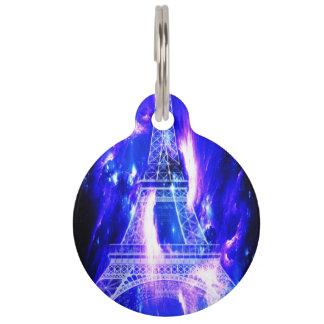 Amethyst Sapphire Paris Dreams Pet ID Tag