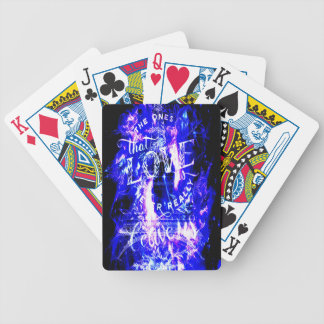 Amethyst Sapphire Paris Dreams the Ones that Love Bicycle Playing Cards