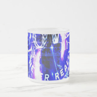 Amethyst Sapphire Paris Dreams the Ones that Love Frosted Glass Coffee Mug