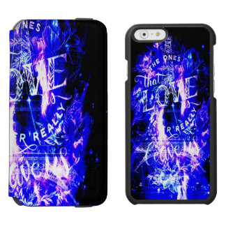 Amethyst Sapphire Paris Dreams the Ones that Love Incipio Watson™ iPhone 6 Wallet Case