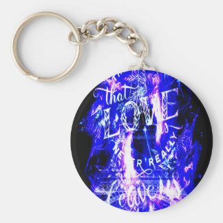 Amethyst Sapphire Paris Dreams the Ones that Love Key Ring