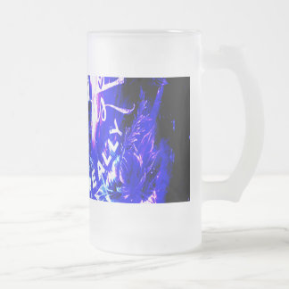 Amethyst Sapphire Parisian Dreams Ones that Love Frosted Glass Beer Mug