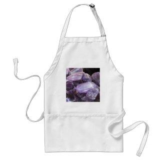 AMETHYST spiritual purple gemstone Aprons