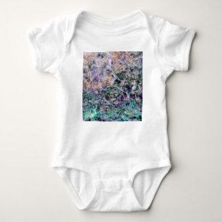 amethyst stone texture baby bodysuit