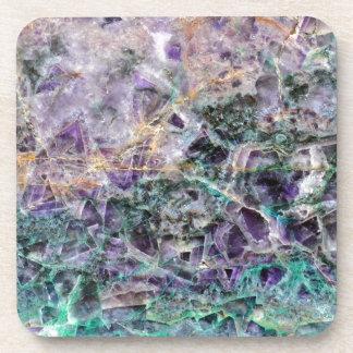 amethyst stone texture coaster