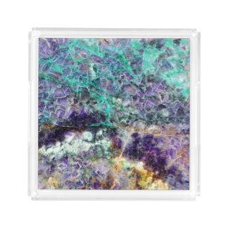 amethyst stone texture pattern rock gem mineral am acrylic tray