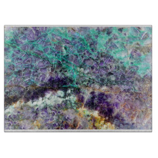 amethyst stone texture pattern rock gem mineral am cutting board