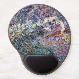 amethyst stone texture pattern rock gem mineral am gel mouse pad