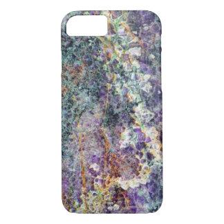 amethyst stone texture pattern rock gem mineral am iPhone 8/7 case