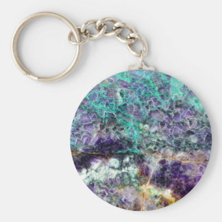 amethyst stone texture pattern rock gem mineral am key ring