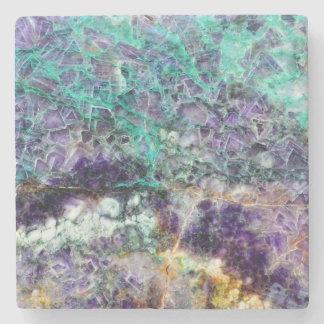 amethyst stone texture pattern rock gem mineral am stone coaster