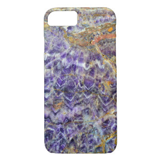 amethyst stone texture pattern rock gem mineral iPhone 8/7 case
