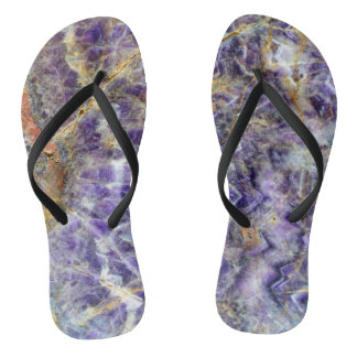 amethyst stone texture pattern rock gem thongs