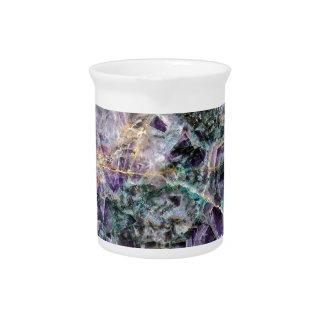amethyst stone texture pitcher