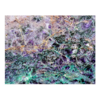 amethyst stone texture postcard