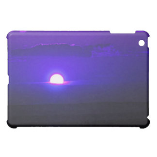 Amethyst Sun in the clouds Cover For The iPad Mini