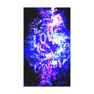 Amethyst Yule Night Dreams The Ones that Love Us Canvas Print