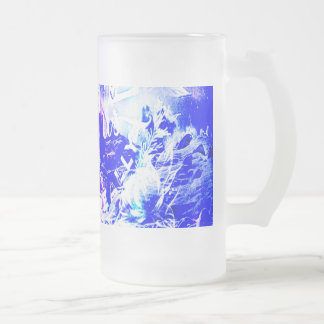 Amethyst Yule Night Dreams The Ones that Love Us Frosted Glass Beer Mug
