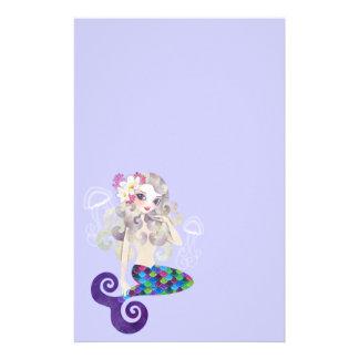 Amethyste Mermaid Stationery