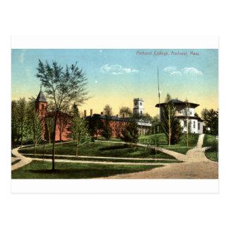 Amherst College MA Vintage 1912 Postcard
