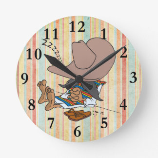 AMIGO SIESTA TIME WALL CLOCK