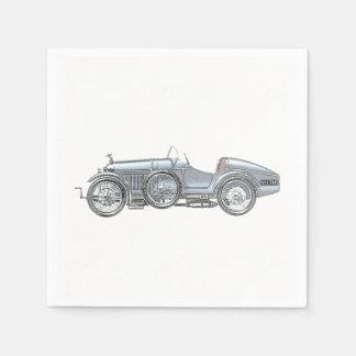 Amilcar Race Car Paper Napkins
