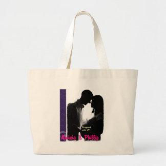 Aminia & Phillip Pregnant Canvas Bag
