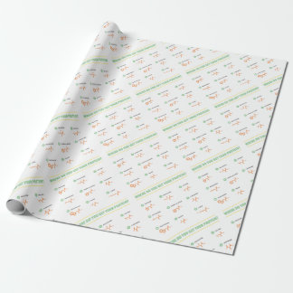 Amino Acids - Where do you get your protein? Wrapping Paper