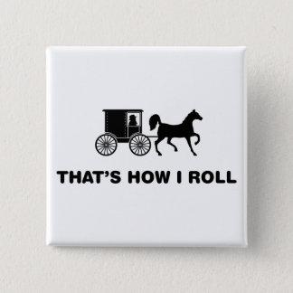 Amish 15 Cm Square Badge