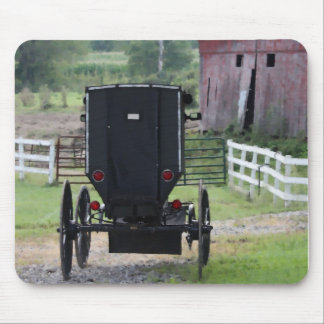 Amish Buggie - Holmes Co OH Mouse Pad