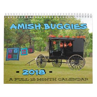 Amish Buggies 2018 Calendar