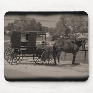 Amish Buggy Mouse Mat