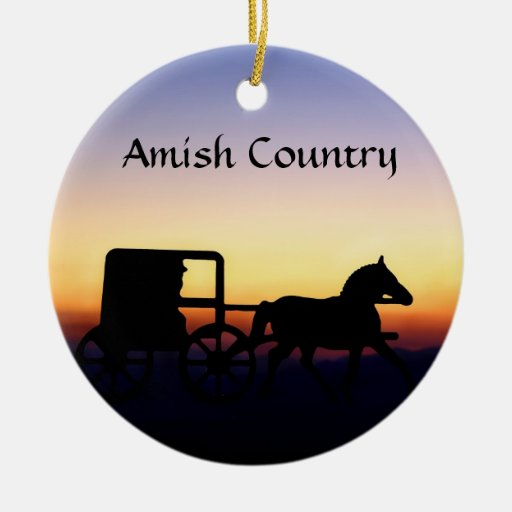 Amish Buggy Ride Ornaments