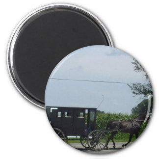 Amish buggy ride magnet