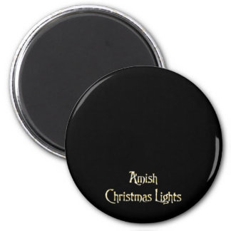 Amish Christmas Lights Magnet