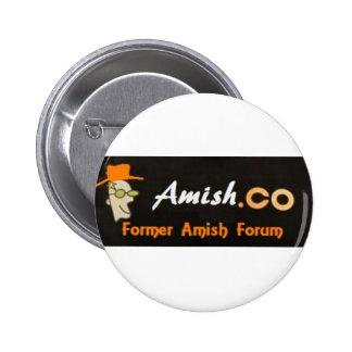 Amish.co Logos Pin