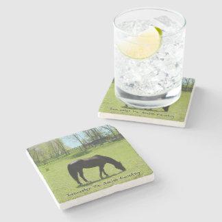 Amish Coasters, Beautiful Horse! Stone Beverage Coaster